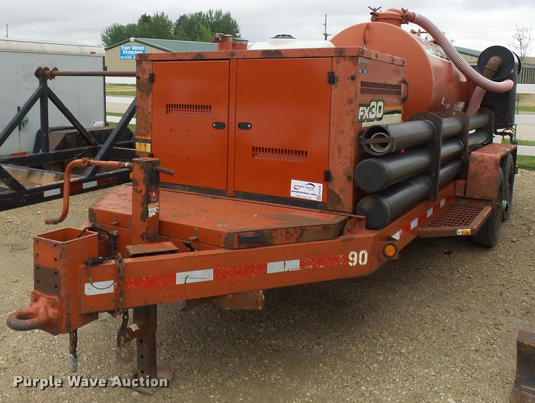 2005 Ditch Witch FX30 vacuum excavator