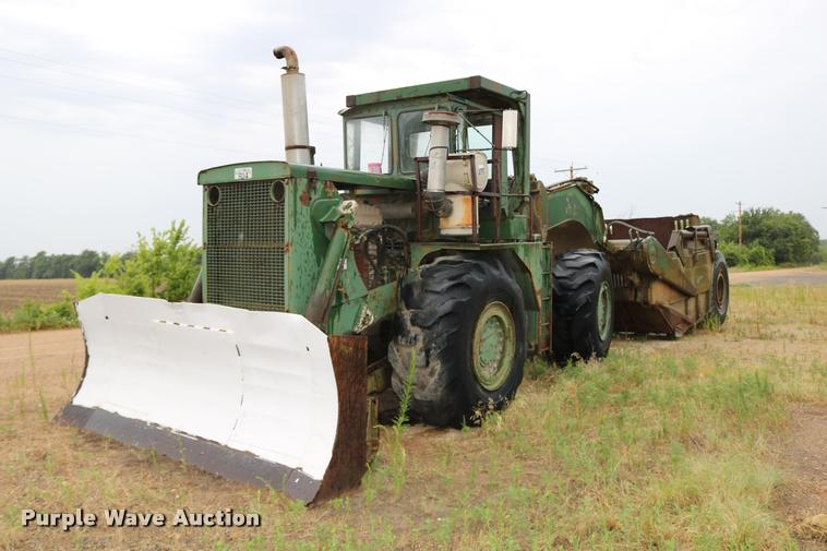 Clark 290M conventional scraper
