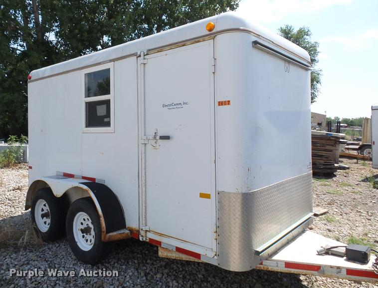 2003 W-W enclosed cargo trailer
