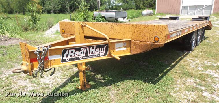 2008 Redi Haul R2127 equipment trailer