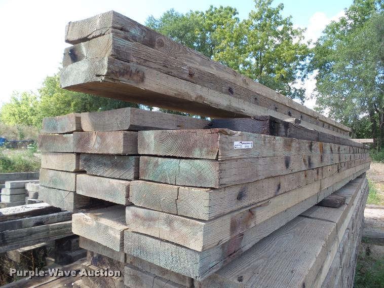 (21) bridge timbers