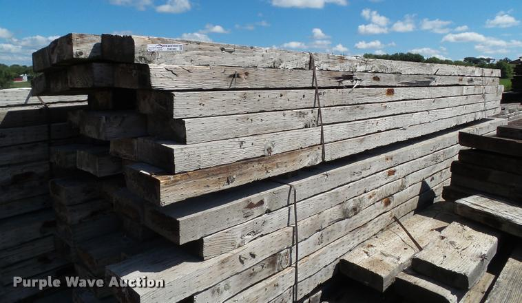 (18) bridge timbers