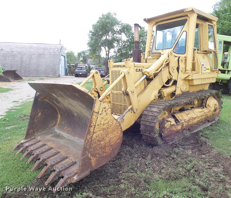 Caterpillar 955L track loader