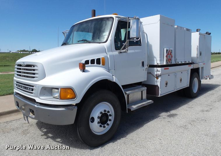 2004 Sterling Acterra service truck
