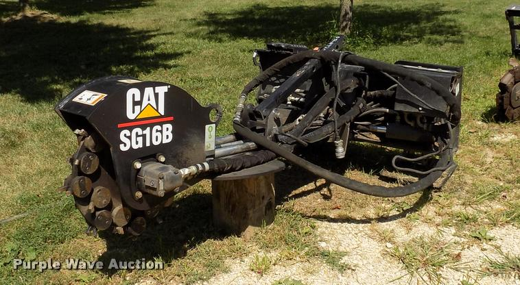 2006 Caterpillar SG16B stump grinder