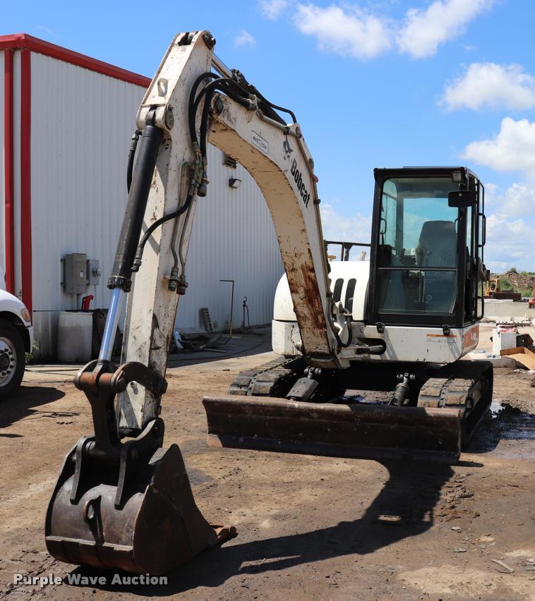 2007 Bobcat 442C compact excavator