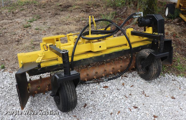 Nortec Harley PS600M skid steer rake