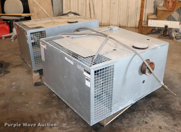 (2) Lanair MX-200 waste oil heaters