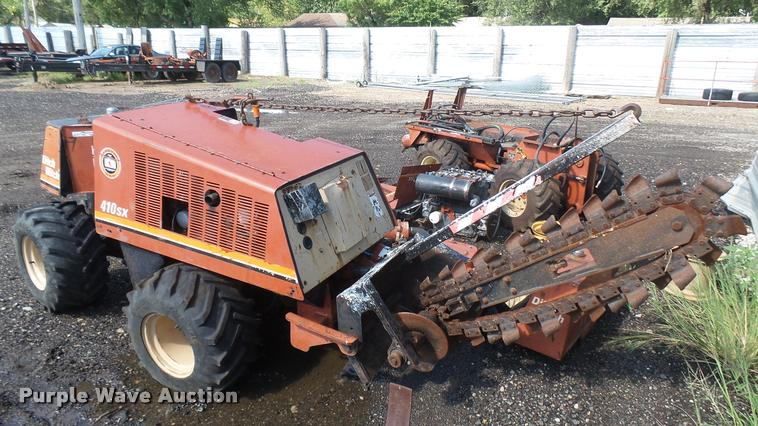1995 Ditch Witch 410SX vibratory plow