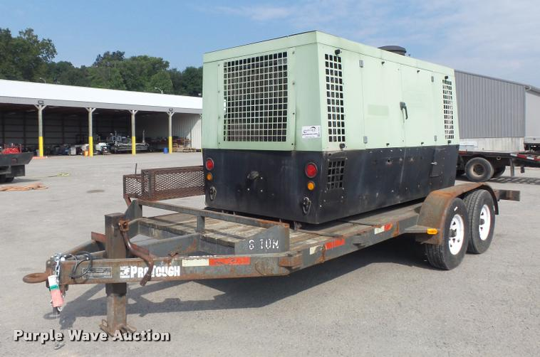 2002 Sullair 750H air compressor