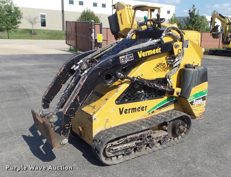 2006 Vermeer S600TX compact utility loader