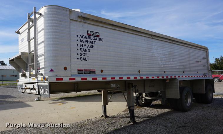 2016 Ravens Kruz RFA-30-DW-AF end dump trailer