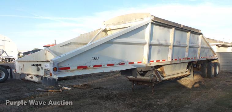 1999 bottom dump trailer