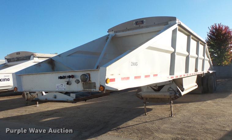 1999 Corn Belt bottom dump trailer