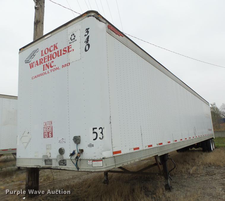 1998 Great Dane 741TTJWA dry van trailer