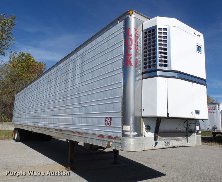 2000 Trailmobile refrigerated van trailer