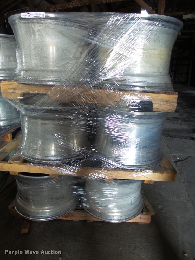 (12) aluminum wheels