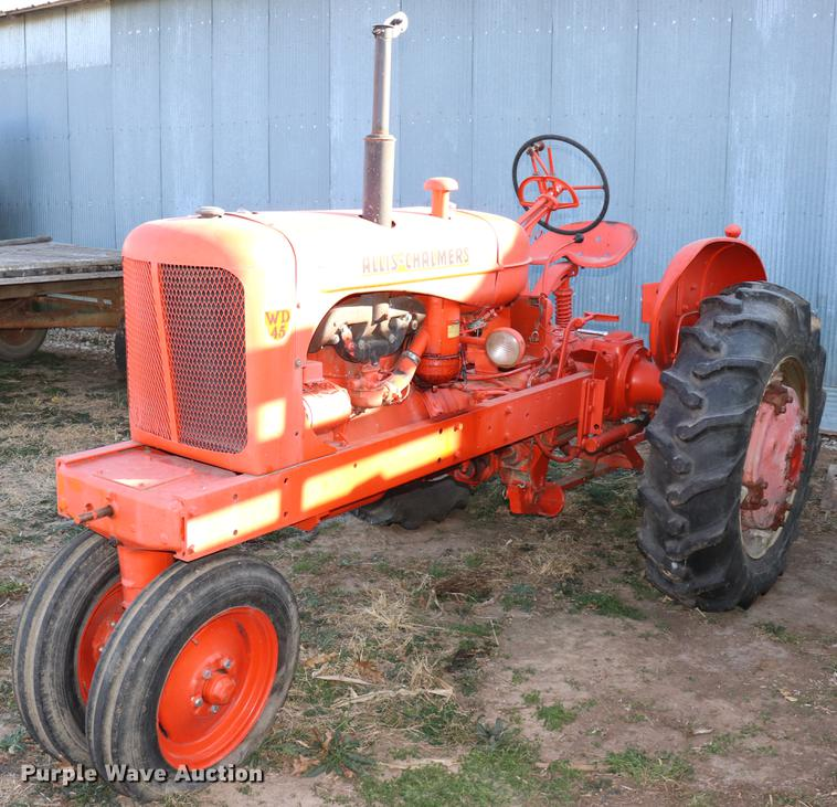 Allis Chalmers WD45 tractor