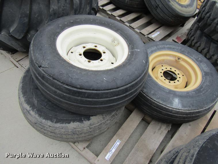 (3) tires and wheels