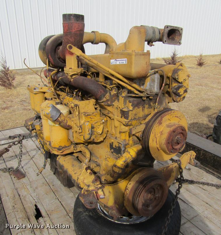 Caterpillar Series D six cylinder turbo diesel engine