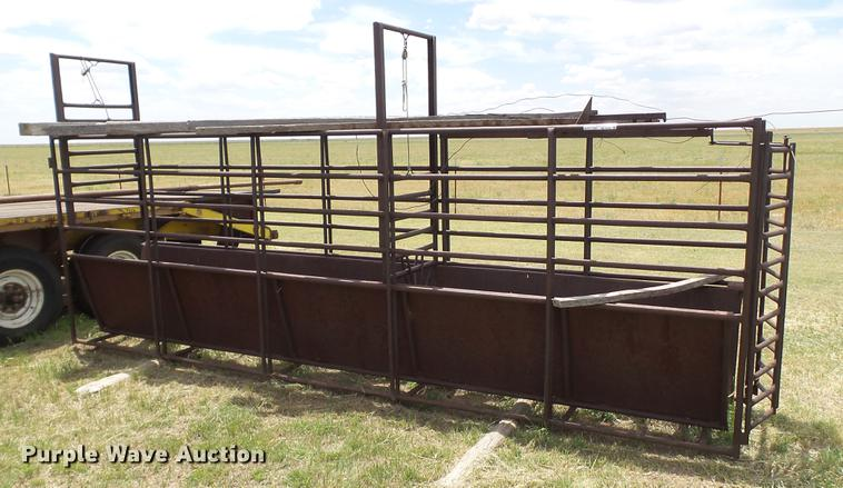 Roping turn-out chute