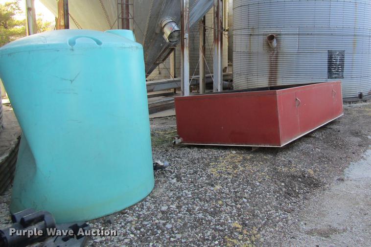 (2) poly tanks