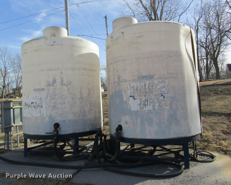 (2) bulk tanks