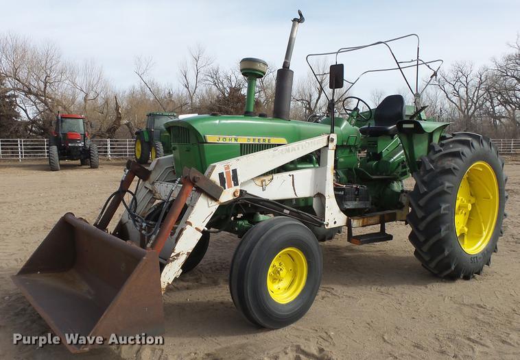 John Deere 4010 tractor