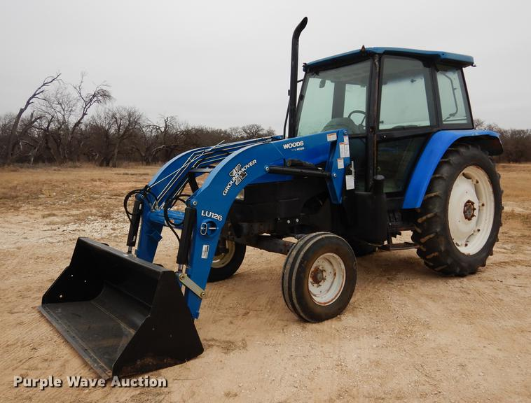 1996 New Holland 5635 tractor