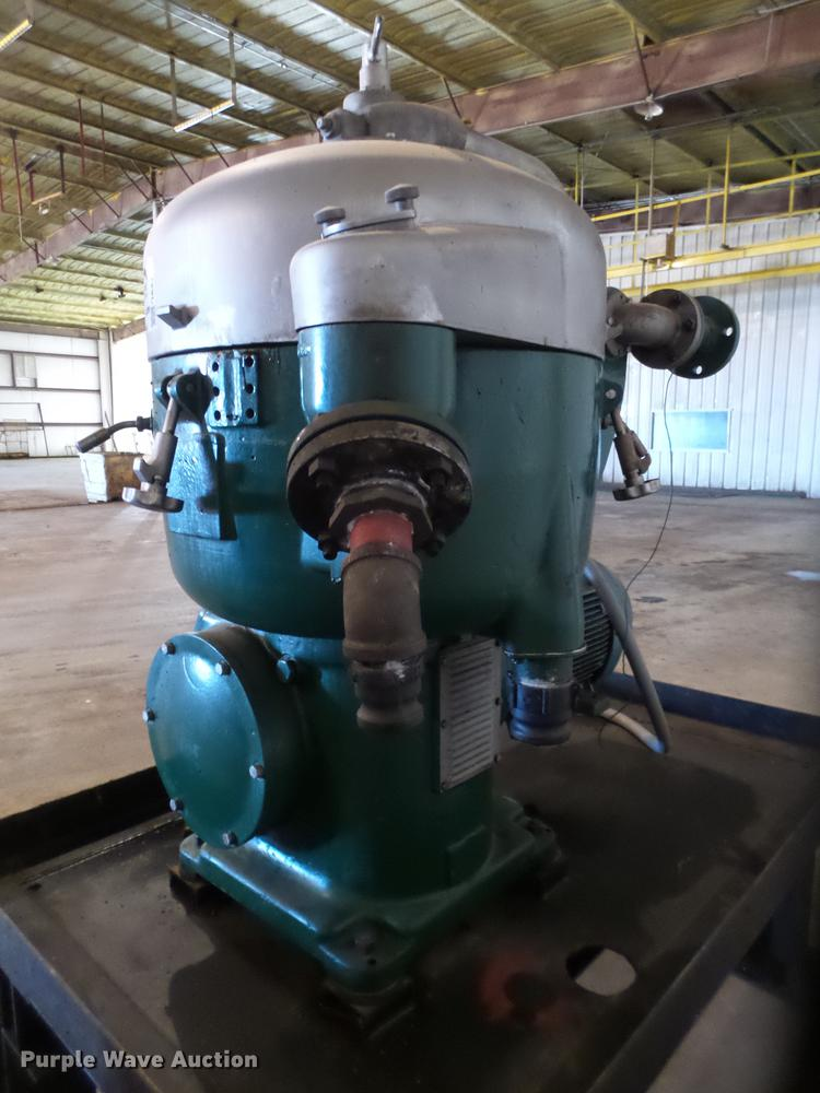 Delaval B214 centrifuge