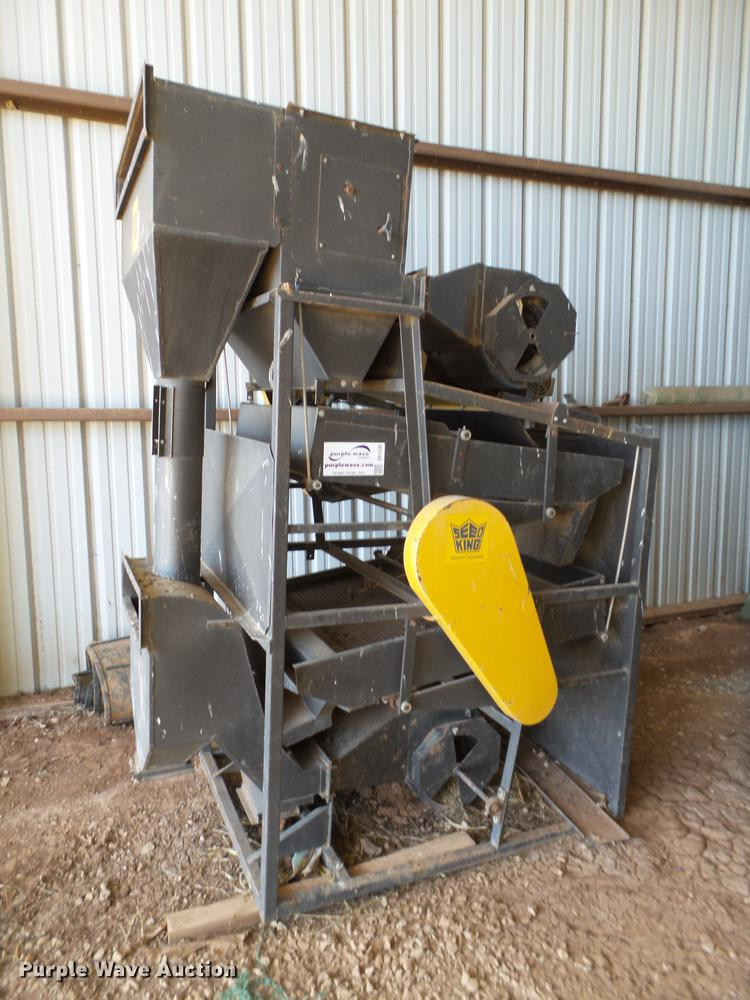Seed King seed cleaner