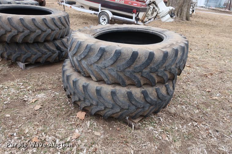 (4) Firestone tires