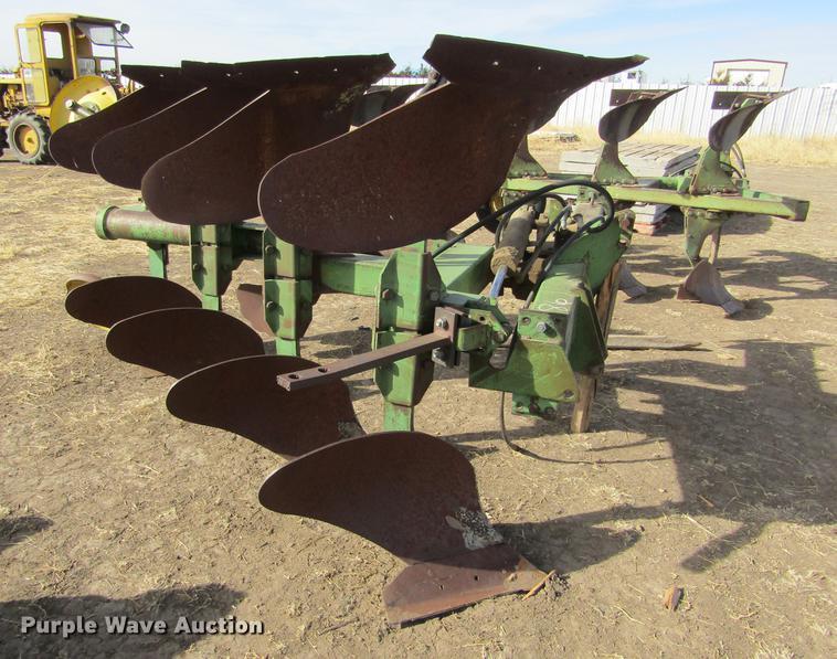 John Deere four bottom plow