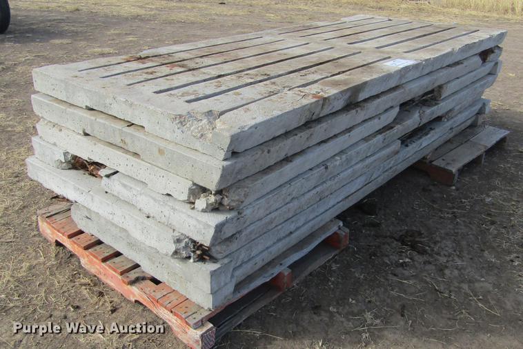 (7) concrete hog slats