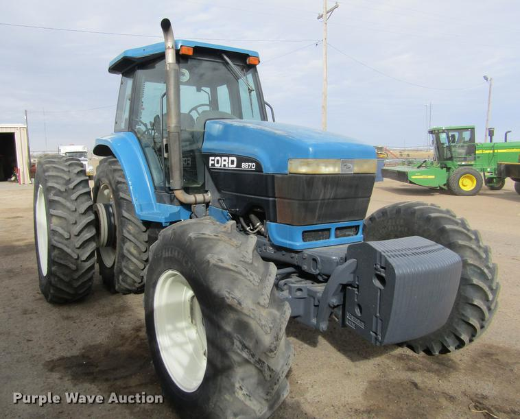 1994 Ford New Holland 8870 MFWD tractor