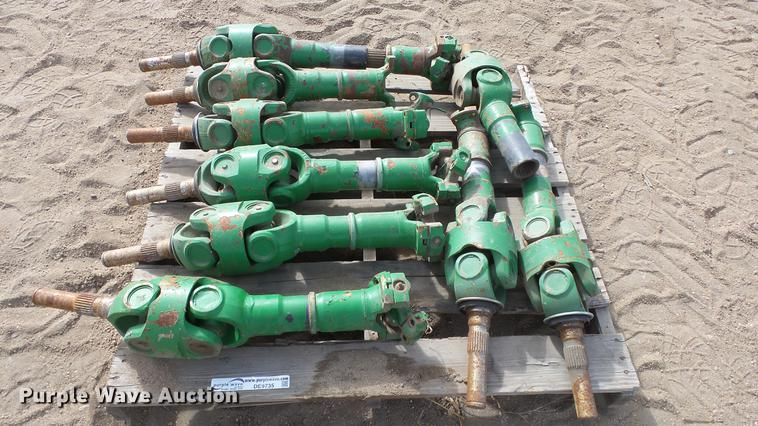 (9) John Deere shafts