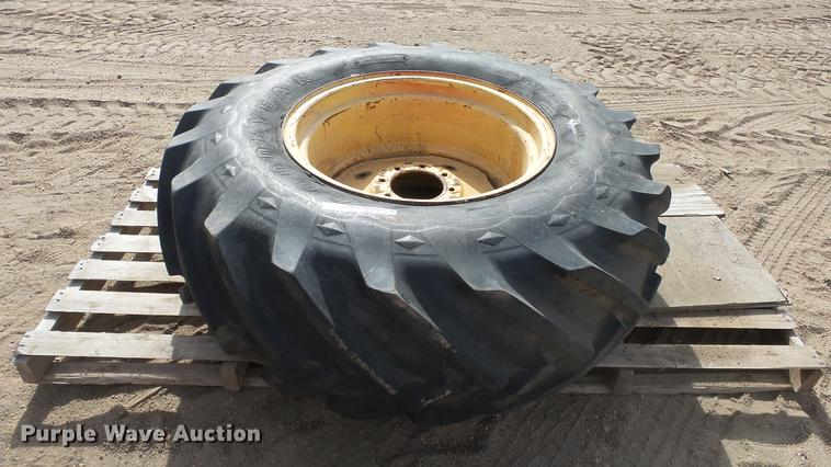 Goodyear 15-26 tire and wheel