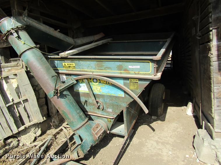 Grain-O-Vator feed mixer
