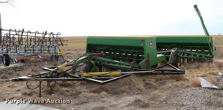 (3) John Deere 9350 hoe grain drills