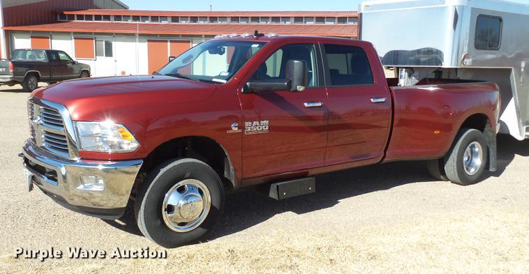 2015 Dodge Ram 3500 Quad Cab pickup truck