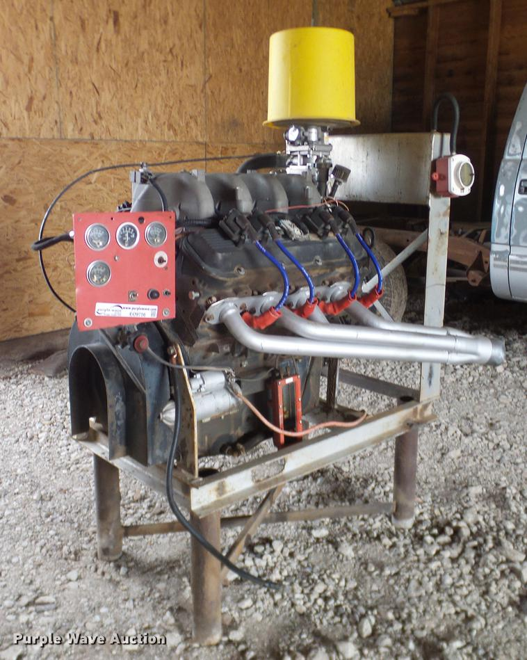General Motors 8.1L dual fuel irrigation engine