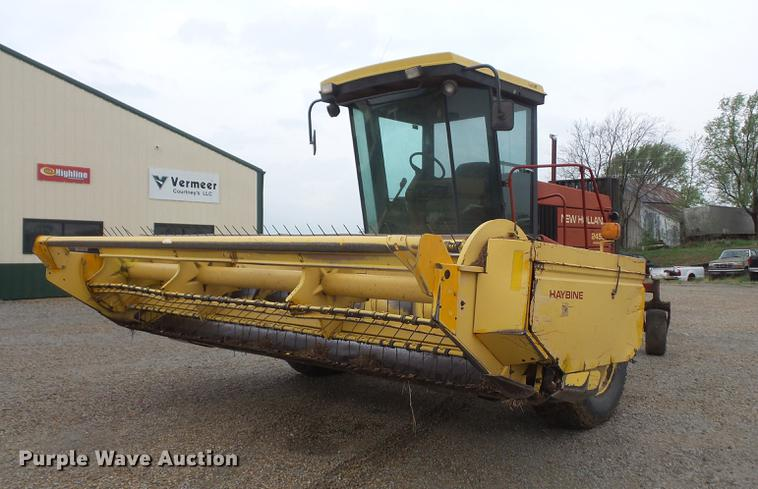 1994 New Holland 2450 windrower