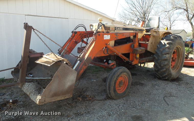 1969 Case 730 tractor