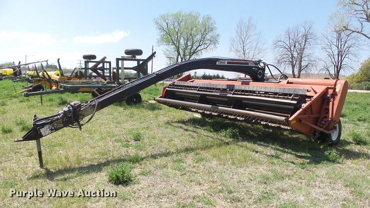 Hesston 1160 Hydroswing windrower
