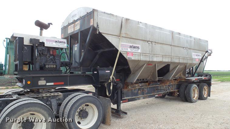 2000 Sun Manufacturing, Inc. tender trailer