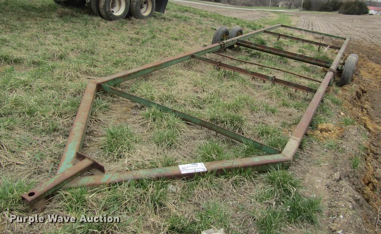 John Deere hay wagon