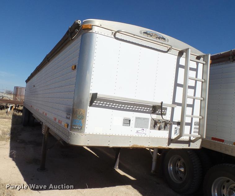 2001 Timpte double hopper bottom grain trailer
