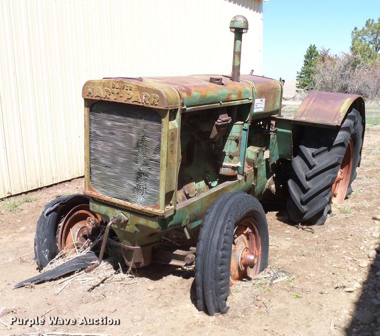 1940 Oliver Hart-Parr 99 tractor