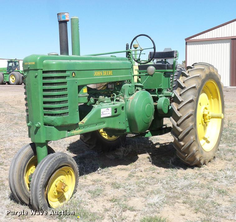 1948 John Deere A tractor