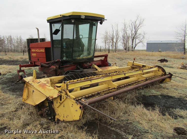 New Holland 2450 windrower